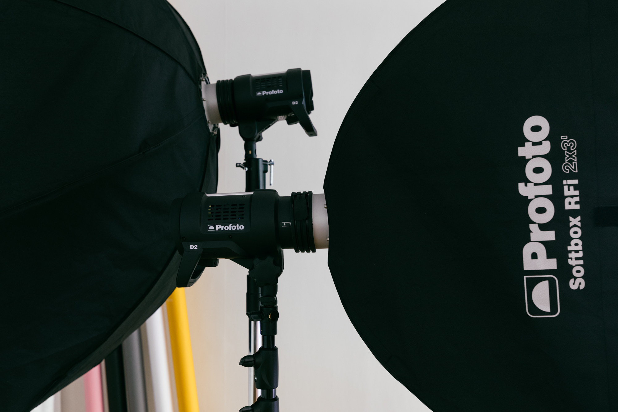 Profoto D2 lights and softbox • Photography Studio for rent • workshop ten • Hong Kong