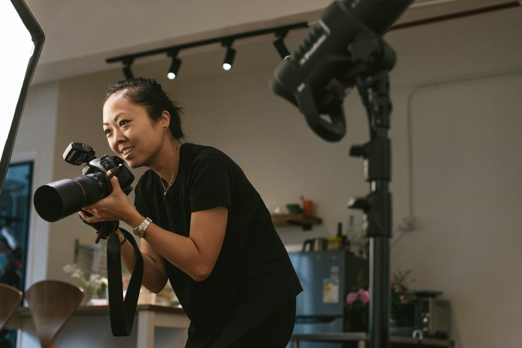Tracy Wong | Hong Kong commercial photographer at her studio, workshop ten